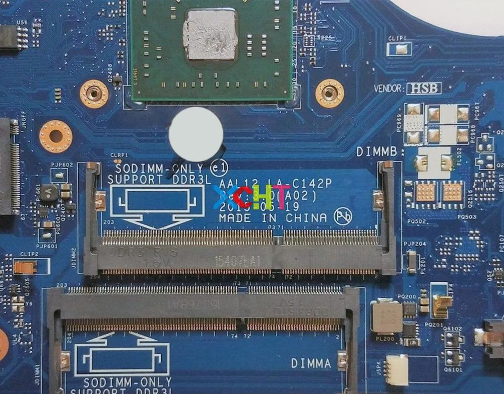 Image 3 - CN 01N0C6 01N0C6 1N0C6 AAL12 LA C142P w A8 7410 CPU for Dell Inspiron 15 5000 5555 5755 NoteBook PC Laptop Motherboard Tested-in Laptop Motherboard from Computer & Office
