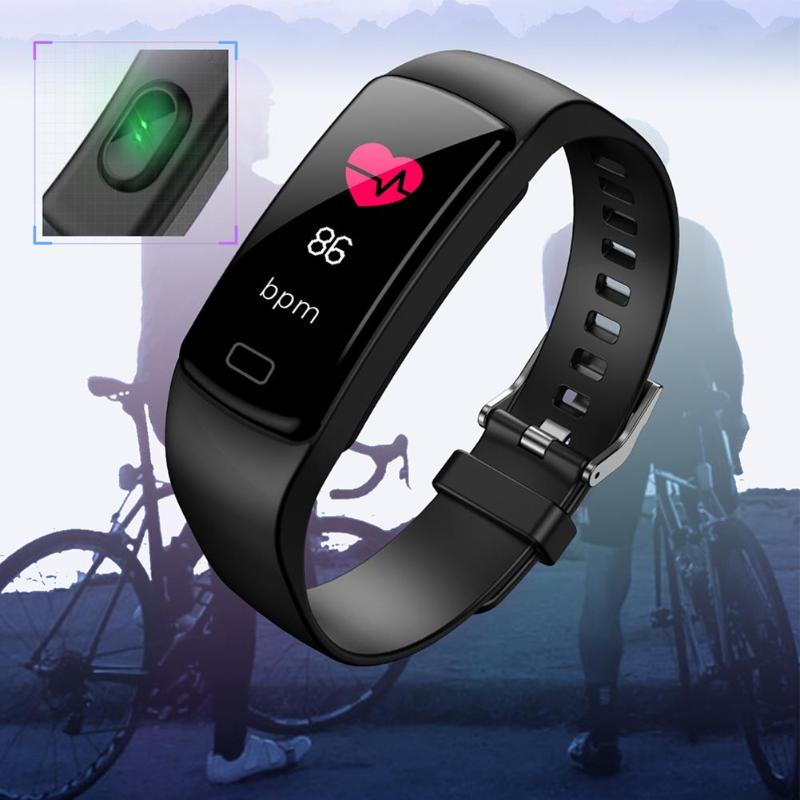 Y9 Smart Bracelet Fitness Tracker Heart Rate Monitor Blood Pressure Smart Band Blood Pressure Smart Band for Smartphone