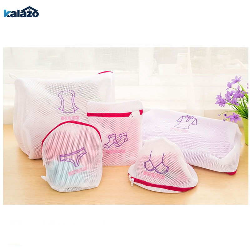 Fashion Fine Embroidered Bra Lingerie Special Wash Bag Padded Machine Washable Mesh Kit Laundry Basket Bag Laundry Bags