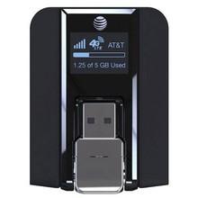 קרן AirCard 340U (AT & T סמארטפון) 4G אלחוטי USB מודם שחור חדש