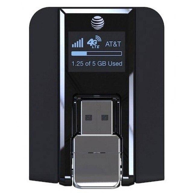 Beam AirCard 340U (AT&T   Unlocked) 4G Wireless USB Modem Black NEW