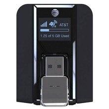 Fascio AirCard 340U (AT & T Sbloccato) 4G Modem USB Senza Fili Nero NUOVO