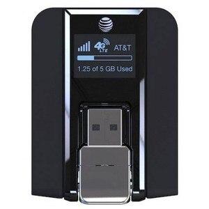 Image 1 - Feixe AirCard 340U (AT&T Desbloqueado) 4G Modem USB Sem Fio Preto NOVO