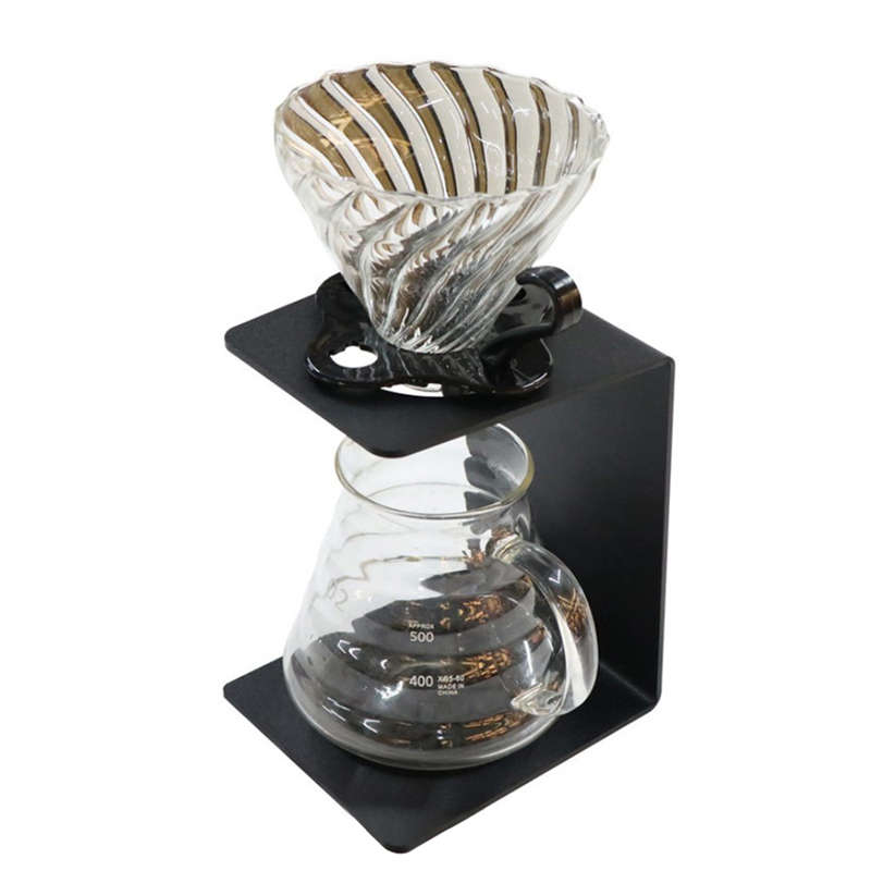 Pour The Coffee Rack With The Detachable Coffee Filter Holder | 100% Recyclable, Durable And Easy To Use, Coffee Filter Cup Ho