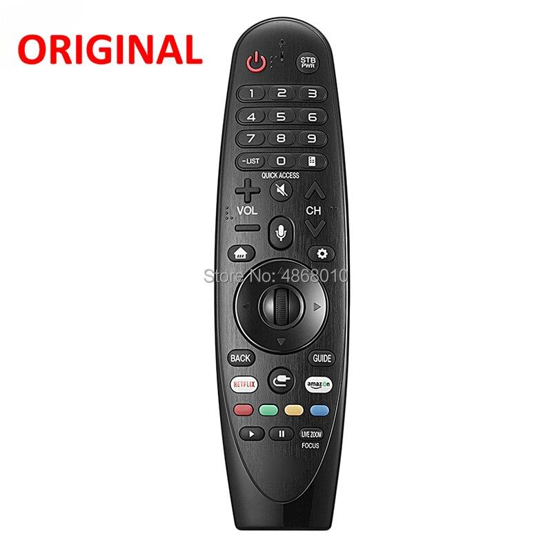 100% Original/véritable AN-MR18BA AKB75455301 télécommande pour LG Magic avec télécommande à commande vocale