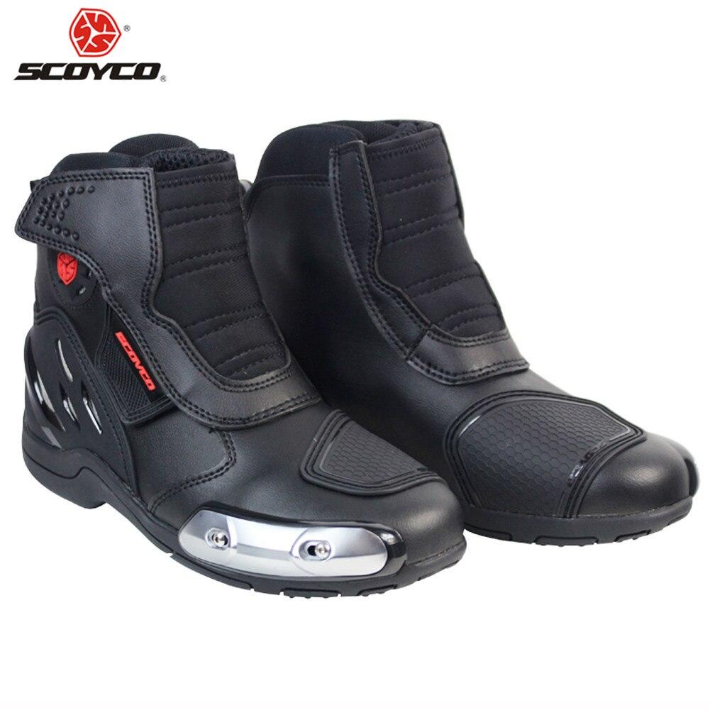 SCOYCO MR002 Motorrad Stiefel Biker Motorrad Motorboats Moto Botas Reiten Boot Motorrad Männer Schuhe Schuh Racing Stiefel