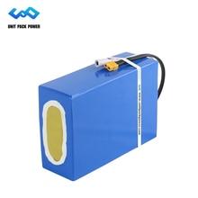 Tax Free водостойкий 48 В 30Ah литий-ионный eBike аккумулятор 1800 Вт Электрический скутер батарея с 50A BMS 54,6 в 5A зарядное устройство