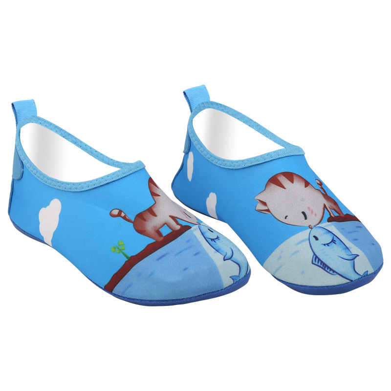 Children's Floor Walking Shoes Water Paradise Beach Shoes Seaside Playing Shoes, Air-permeable Skin Stickers For Men And Women