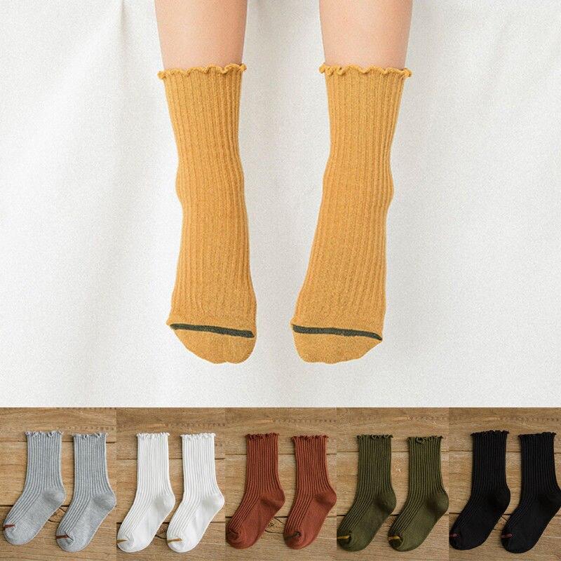 Fellee 6 Pairs Toddler Boy Animal Knee High Socks Unisex Baby Girls Socks