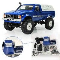 WPL C-24 C24 1/16 4WD 2,4 г Военная Униформа Грузовик Buggy Crawler Off Road RC автомобиль 2CH РТР игрушка комплект без Электрический запчасти