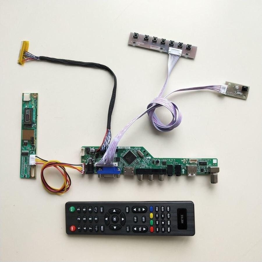 For Ltn141wd-l05 Laptop Lcd Panel 1-lamp Ccfl Lvds 60hz 14.1 1440*900 30pin Hdmi/vga/av/usb/rf Tv56 Controller Driver Board Kit Laptop Accessories