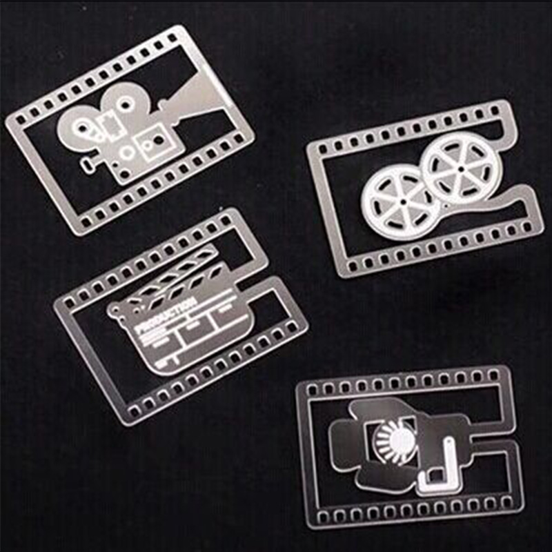 4 Pcs/lot Creative Movie Props Bookmark Stationery Metal Bookmarks For Book Holder School Supplies Papelaria