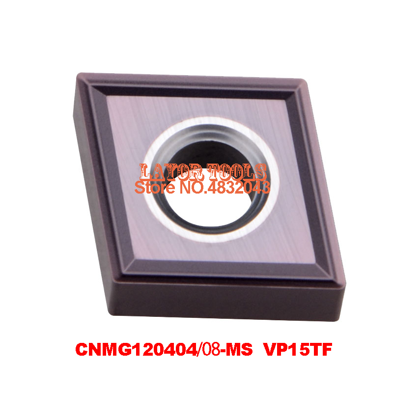 CNMG120404-MS VP15TF/CNMG120408-MS VP15TF,original <font><b>CNMG</b></font> <font><b>120404</b></font> MS/120408 insert carbide for turning tool holder image