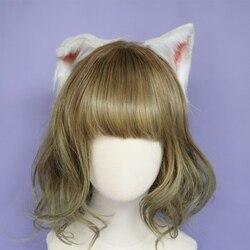 Accessori per capelli Animale Gatto Orecchio Cerchio Dei Capelli Nuovo Pieghevole headwear per le donne della ragazza a mano di alta qualità di lavoro