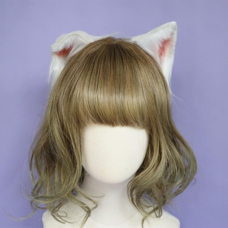 Cheveux accessoires Animal chat oreille cheveux cerceau nouveau couvre-chef pliable pour fille femmes haute qualité travail à la main