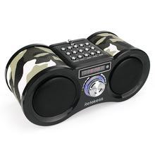 Retekess V113 Стерео FM стерео радио USB TF динамик MP3 карта музыкальный плеер с пультом дистанционного управления радио приемник