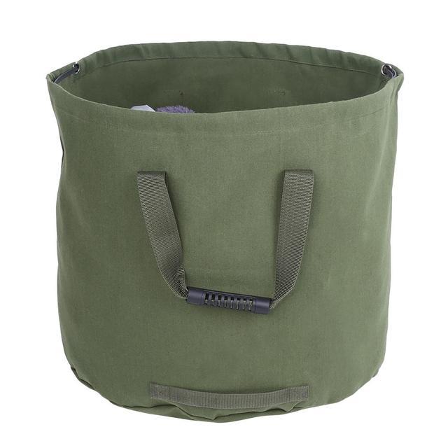 Przenośny wodoodporny wielokrotnego użytku ogród trawnik liść na śmieci worek na odpady pojemnik torba na zakupy ogród Yard kompostu torba tanie i dobre opinie ROUND Inne Green Garden waste bag High quality in stock