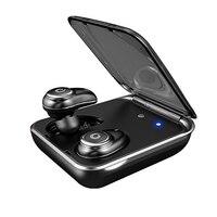 I7 Plus Binaural Stereo sports Wireless ipx7 waterproof Headset With Charging Bin Bluetooth Mini Earbuds Headset fone de ouvido
