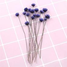 10PCS Fashionable Mini Daisy Flower Dry Handmade DIY Supplies For Crafts Resin Home Decoration Props
