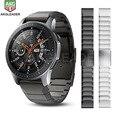 20 мм 22 мм металлический ремешок для часов samsung gear S3 Galaxy Watch 46 мм ремешок браслет из нержавеющей стали для huawei GTWatch быстрая установка