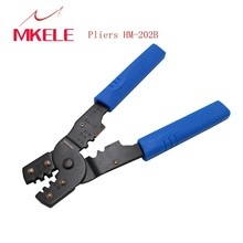 Cable Wire Stripper Cutter Crimper Automatic Multifunctional Crimp HM-202B Hand Professional Crimping Tool