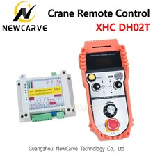 XHC DH02T Crane Remote Control Industrial Wireless Remote Control For Welding Machines NEWCARVE nice uting ce fcc industrial wireless radio double speed f21 4d remote control 1 transmitter 1 receiver for crane