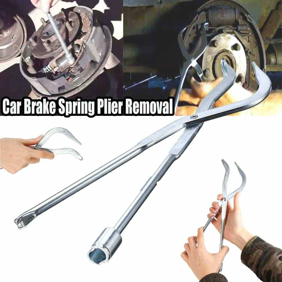 Brake Drum Pliers Brake Spring Plier Installer Removal Car Repair Hand Tool Automotive Tools Car Repair Brake System