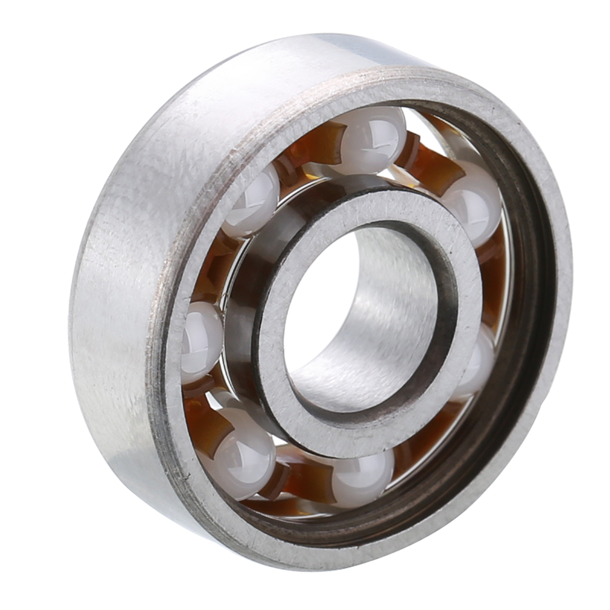 Mixed Ceramic Ball Bearings ZrO2 Zirconia 608 8*22*7mm Hand Fidget Spinner Toy Ceramic Speed Ball Bearings Hardware Tools image