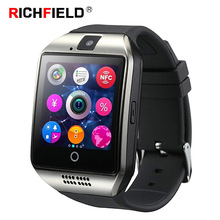 Smart Watch with Sim Card Bluetooth Phone Watch SmartWatch Pedometer Sleep Monitor Call Push SMS Camera For Android IOS Whatsapp zgpax s83 bluetooth smartwatch android 5 1 smart watch phone with gps wifi wcdm 5 0mp camera sleep monitor