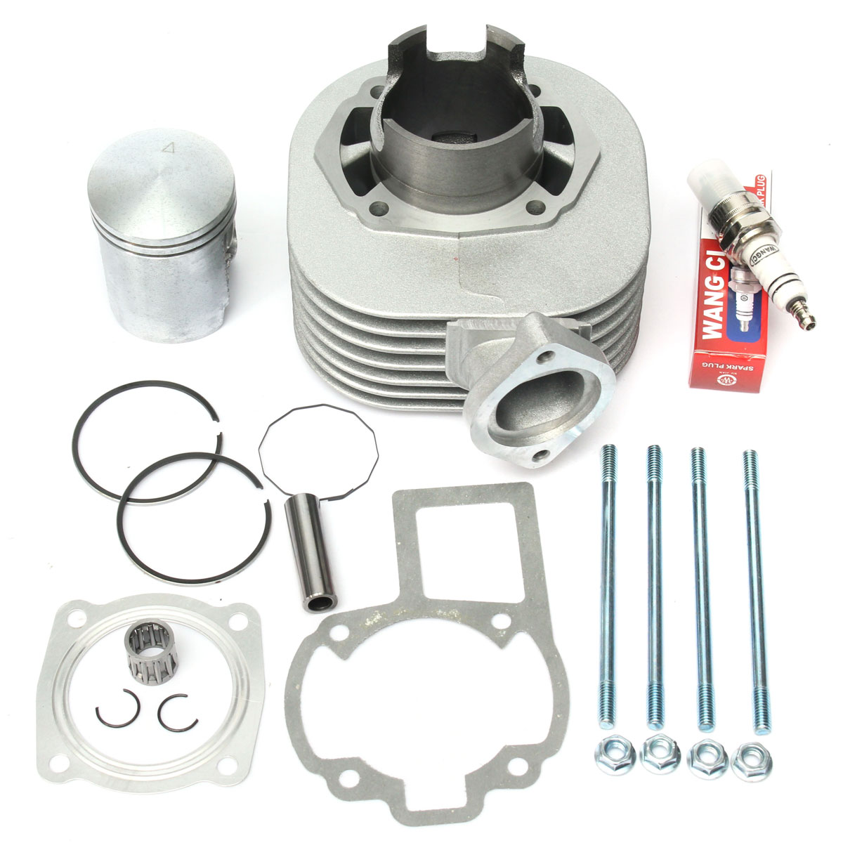Cylinder Piston Kit Rings Gasket Pin Top End Set For SUZUKI LT 80 LT80 1987-2006 11210-40B01