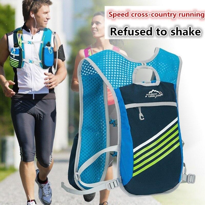 Extérieur Trail Running vélo 5L sac à dos étanche équitation randonnée respirant léger sport Gym homme femmes épaule eau Tasche