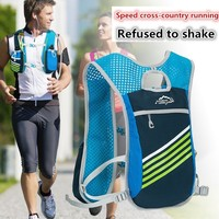 Outdoor Trail Running Bike 5L Backpack Bag Waterproof Riding Hiking Breathable Light Sports Gym Man Women Shoulder Water Tasche