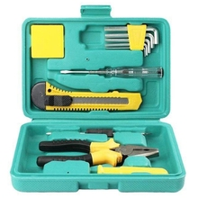 12Pcs Multi-Function Hardware Kit Household Tool Kit Electrician Hand Repair Tool Screwdriver Combination Kit цены
