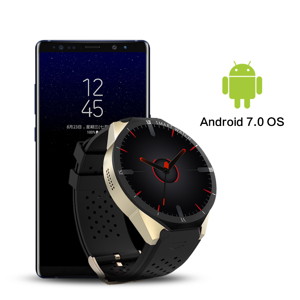Image 5 - KW88 Pro Smart watch Men 3G GPS Watch With Camera Android 7.0 1GB+16GB Bluetooth mens Sport Watch Connect IOS Android PhoneSmart Watches   -