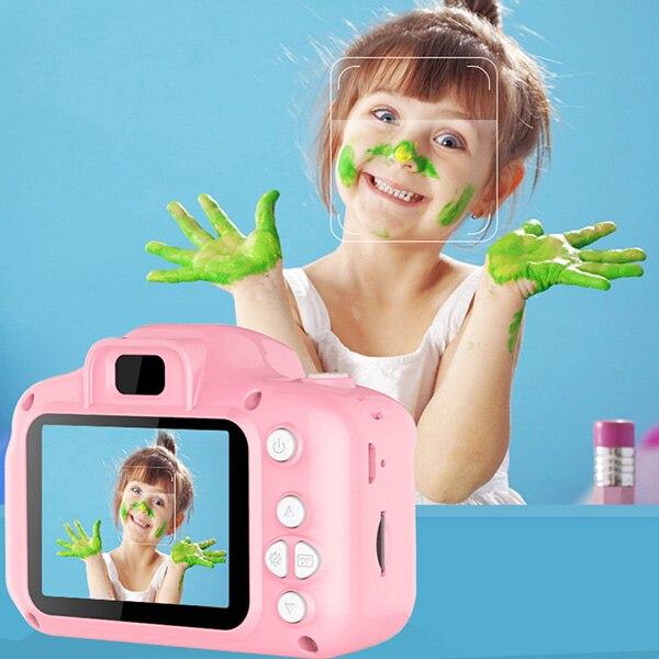 Cámara para niños Mini cámara Digital bonita para niños de alta definición grabación de vídeo inteligente función de grabación de juguete cámaras regalos