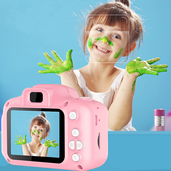 Children'S Camera Mini Digital Cute Camera For Kids High Definition Smart Shooting Video Recording Function Toy Cameras Gifts