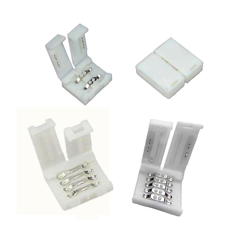 5pcs 2835 3528 5050 SMD LED Strip light Free Welding accessories 2pin 4pin 5pin 8mm 10mm 12mm for Single RGB strip ribbon tape