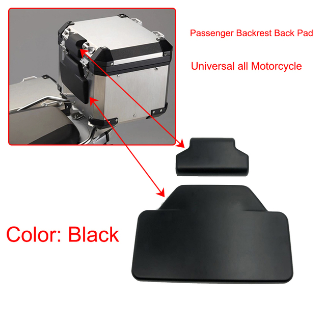 F750GS F850GS R1250GS Passenger Backrest Back Pad Rear Saddlebag Trunk Sticker For BMW F750 GS/ F850 GS/R 1250GS