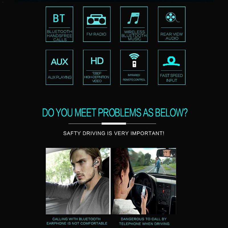 AUTOECHO Bluetooth con pantalla