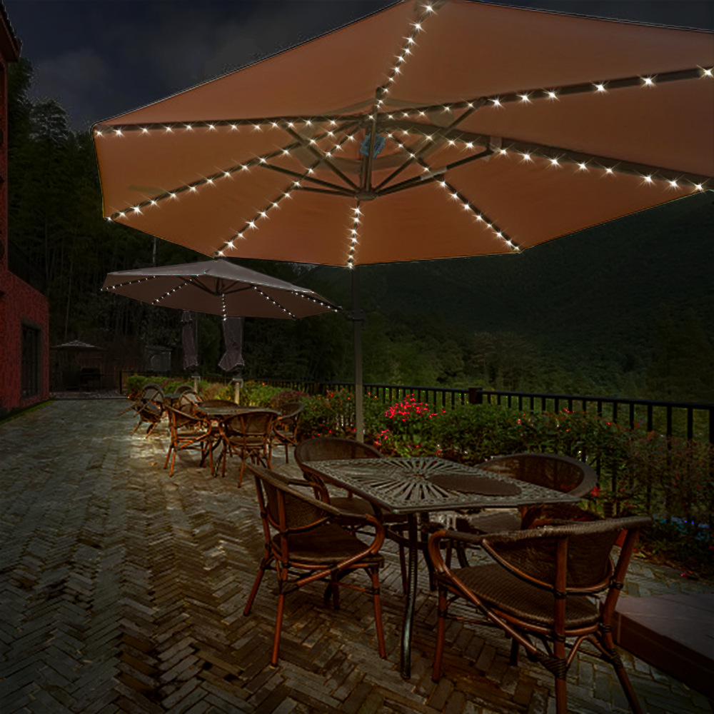 Umbrella String Light 104leds Battery Operated Outdoor
