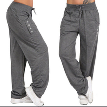 Plus Large size Women Casual Fitness Sweatpants Baggy Wide L