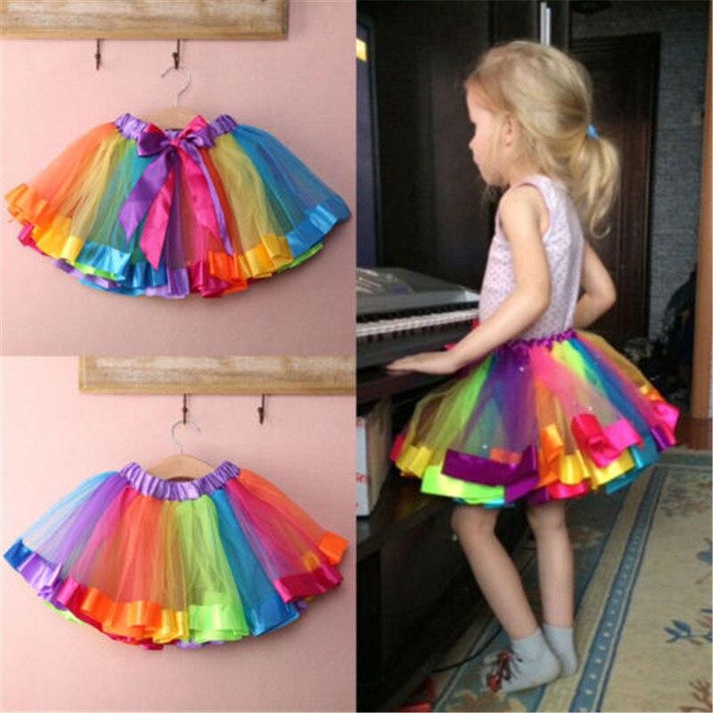 Mädchen Kleidung Billiger Preis Kleines Mädchen Pailletten Tutu Röcke Leistung Requisiten Für Kinder Mädchen 2 T-7 T Mutter & Kinder