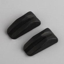 2 pçs 40mm tiro com arco recurvo amortecedor limbsaver borracha macia membro/vibração amortecedor absorção de choque