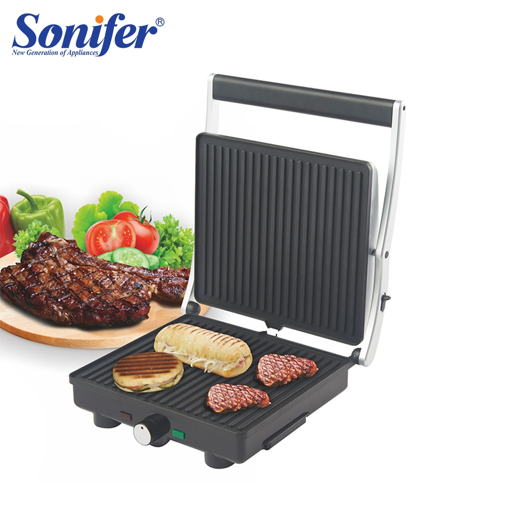 2000W Electric BBQ Grill Household Barbecue Grill Electric Drip Tray Hotplate Smokeless Grilled Meat Pan Electric Grill Sonifer