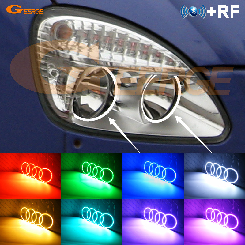 For GAZ GAZelle 3221 2003 2009 Excellent RF Bluetooth Controller Multi Color Ultra bright RGB LED