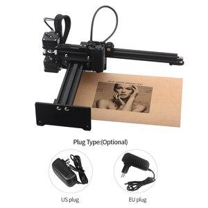 Image 2 - NEJE 405nm 3500mw Desktop Laser Engraver CNC Engraving Carving Machine Mini Carver DIY Laser Logo Mark Printer Area 150mm*150mm