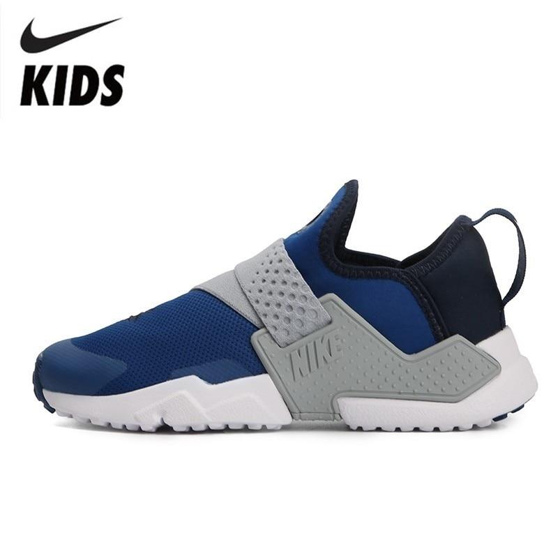 NIKE HUARACHE ESTREMO (PS) Per Bambini Per Bambini Originali scarpe Da Tennis di Sport Traspirante Runningg Scarpe Outdoor Casual # AH7826-401