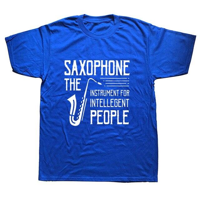 Present Idea Saxophone Musician T-Shirt11