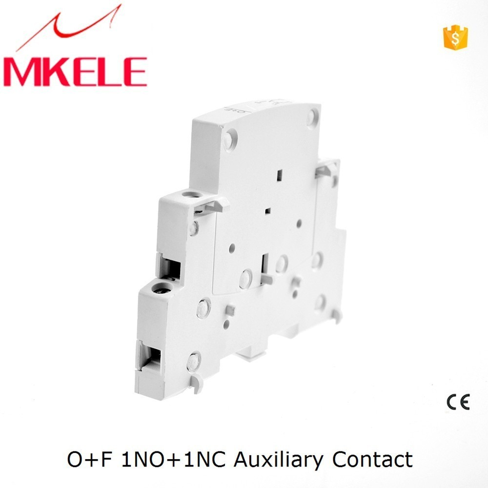 O+F ct contactor auxiliary 1no+1nc ac silver electrical contact for household