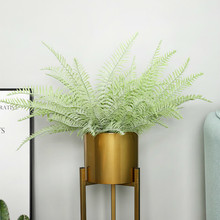 Artificial grass Persia Leaf - 22.83 in. tall The Wedding Simulation Greenery fake Plants tropical Plastic leaves